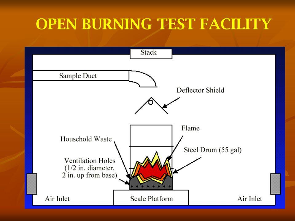32 OPEN BURNING TEST FACILITY