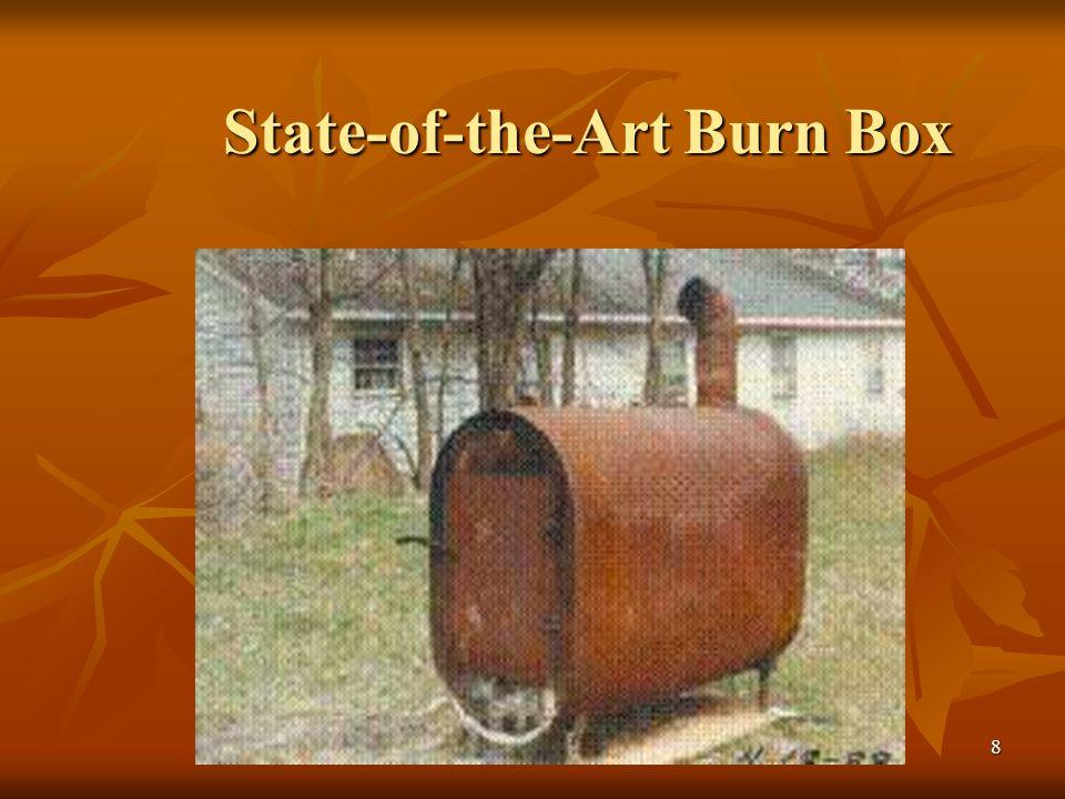 8 State-of-the-Art Burn Box