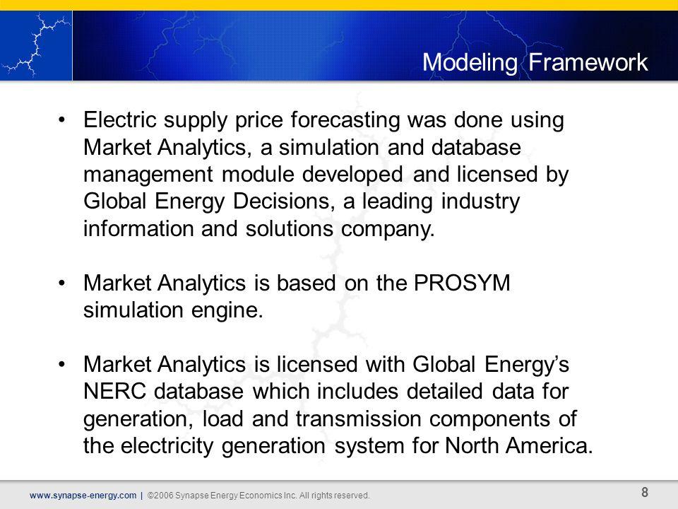 8 www.synapse-energy.com | ©2006 Synapse Energy Economics Inc.