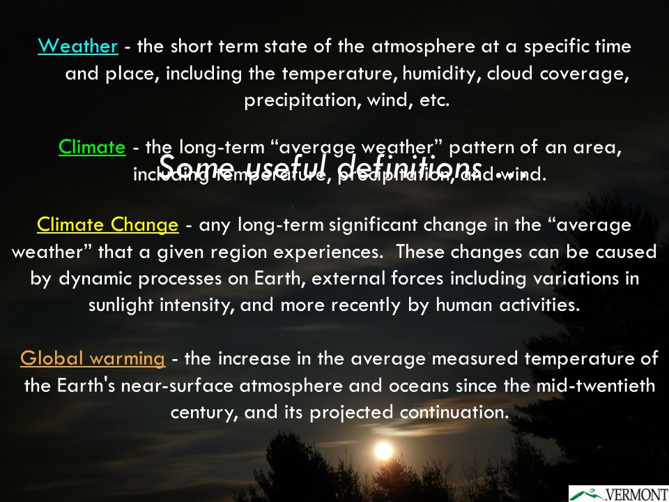 Is the Earth getting warmer.Is the Earths climate changing.