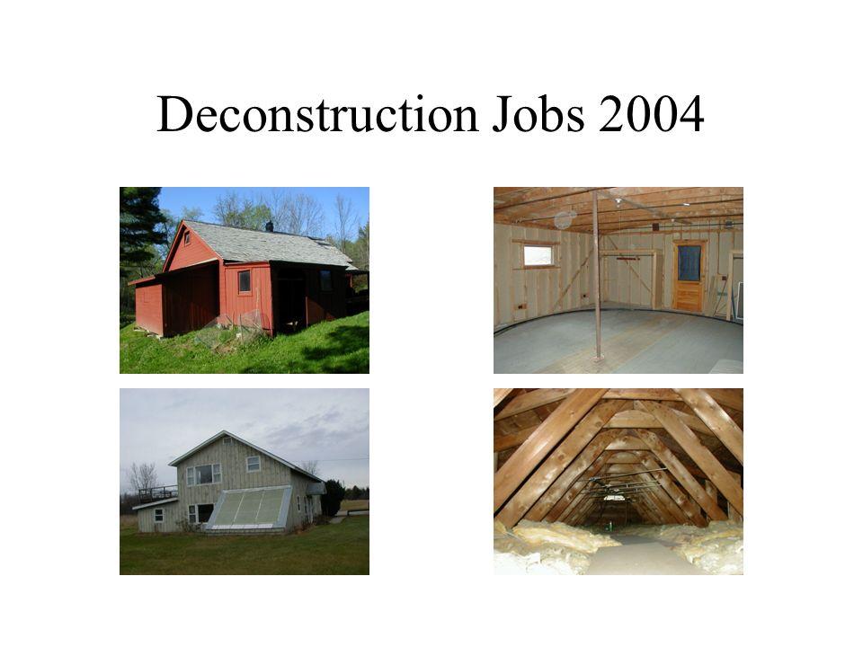 Deconstruction Jobs 2004