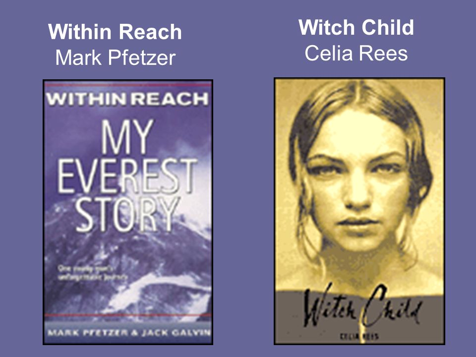 Within Reach Mark Pfetzer Witch Child Celia Rees