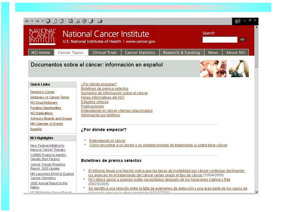 NCI Publications