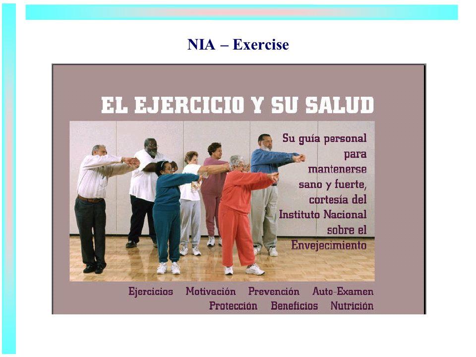NIA – Exercise