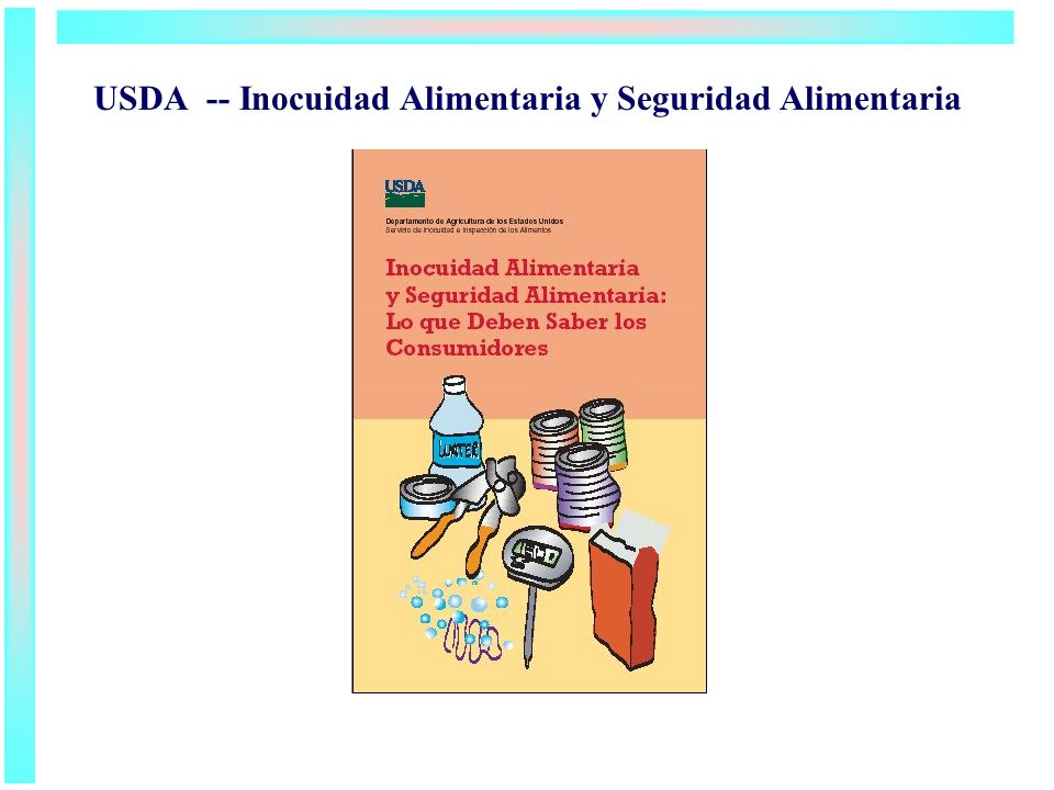 USDA -- Inocuidad Alimentaria y Seguridad Alimentaria