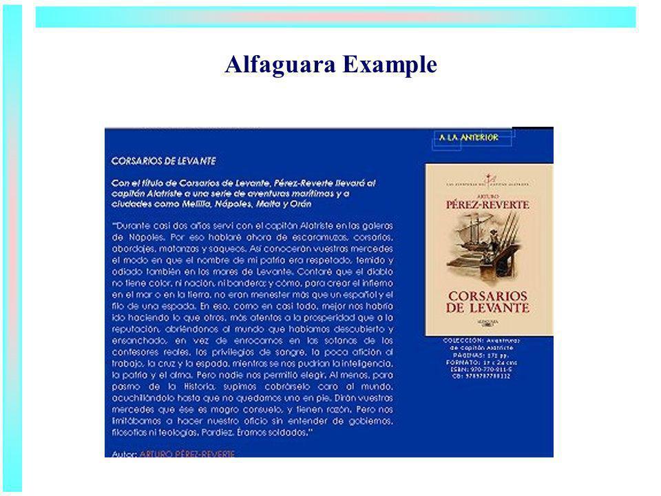 Alfaguara Example
