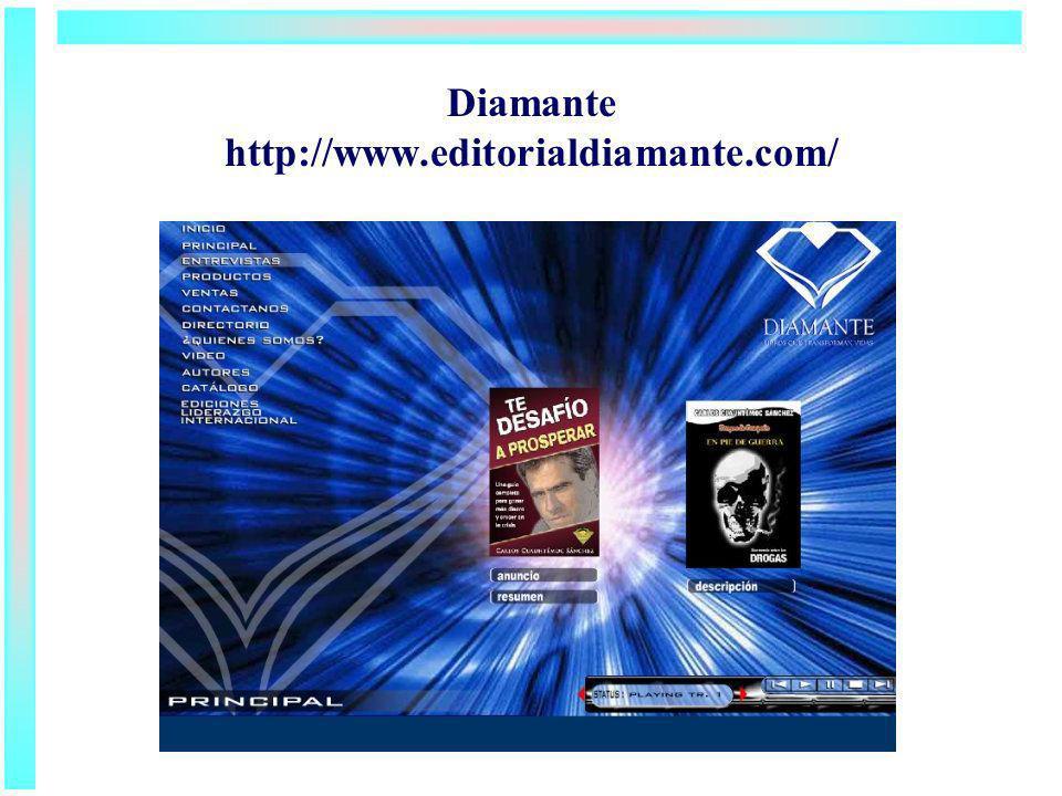 Diamante http://www.editorialdiamante.com/