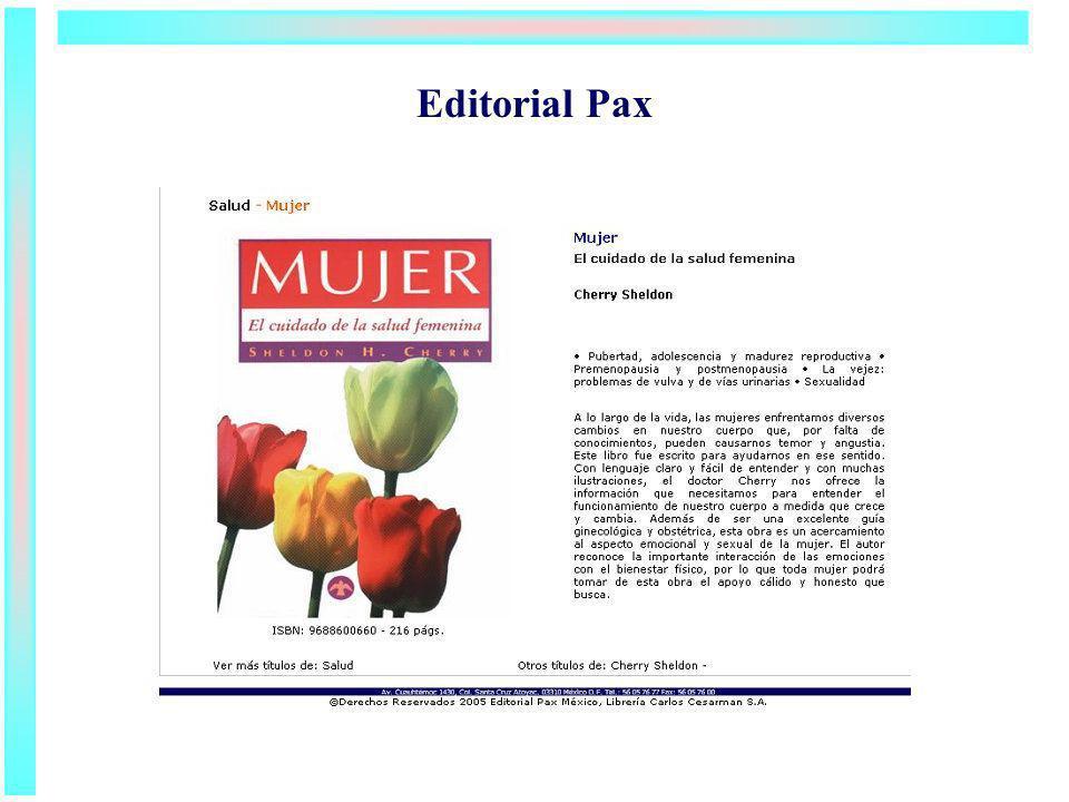 Editorial Pax