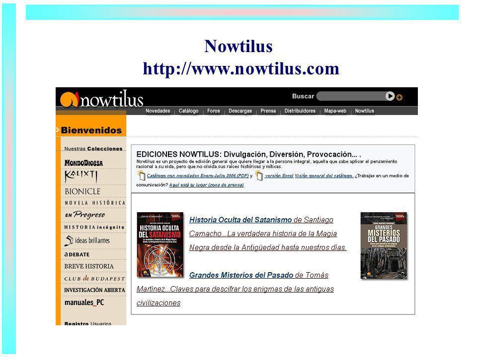 Nowtilus http://www.nowtilus.com