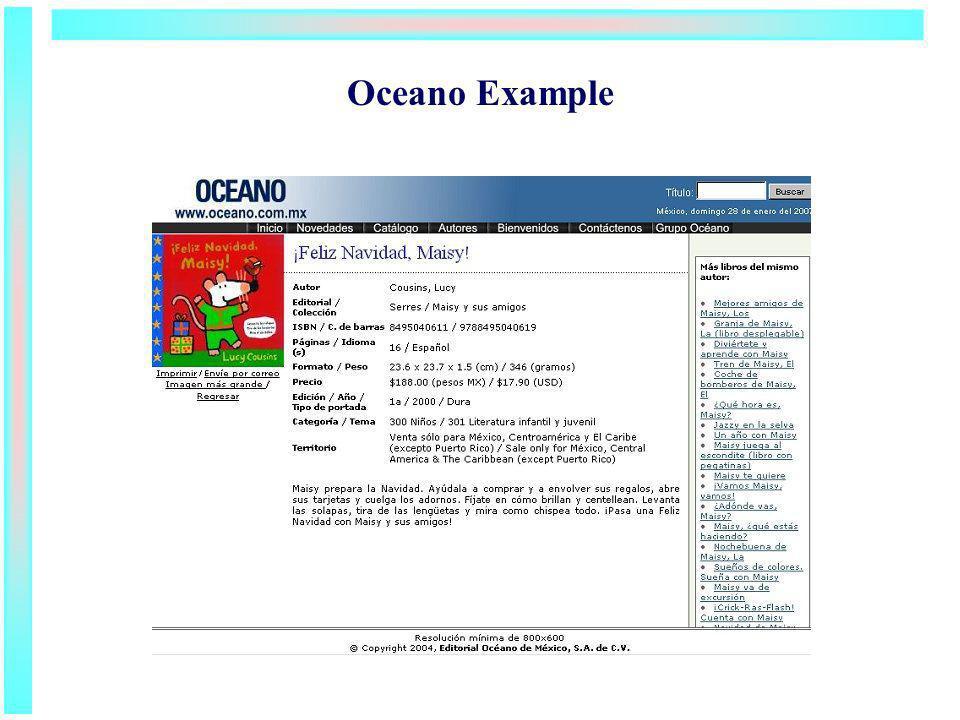 Oceano Example
