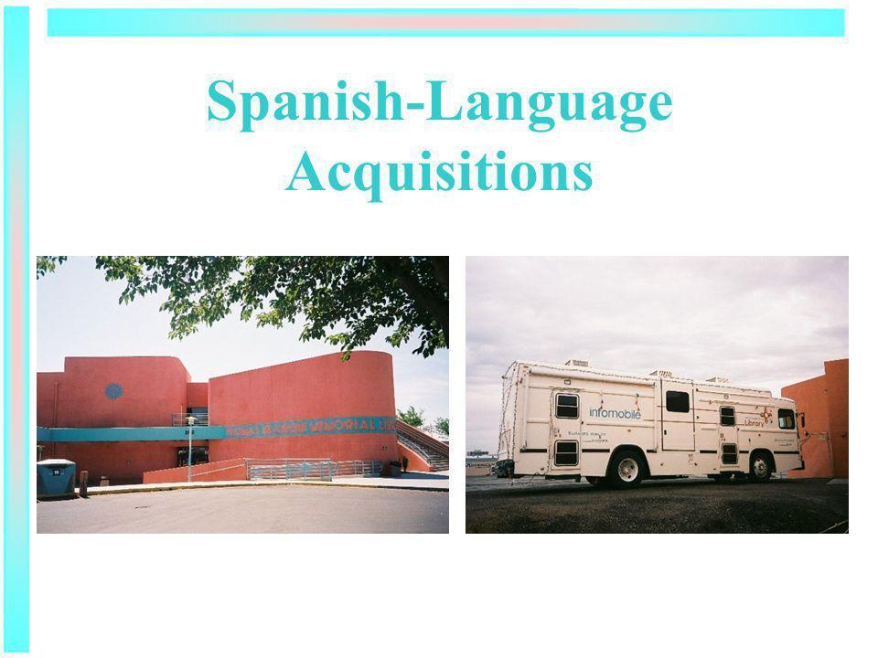 Spanish-Language Acquisitions