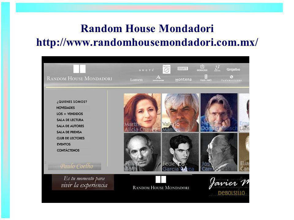 Random House Mondadori http://www.randomhousemondadori.com.mx/