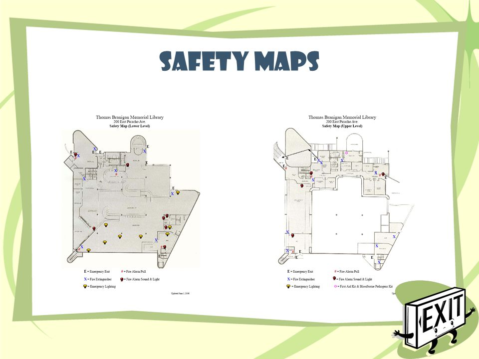 Safety maps