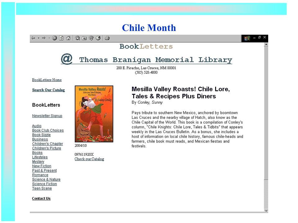 Chile Month
