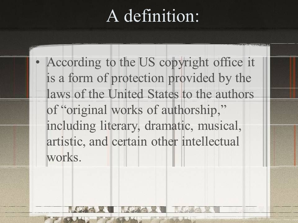 How is copyright established.
