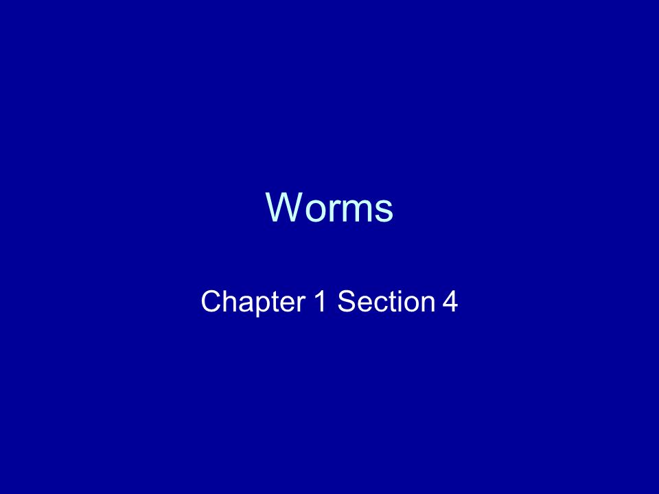 Worms Chapter 1 Section 4