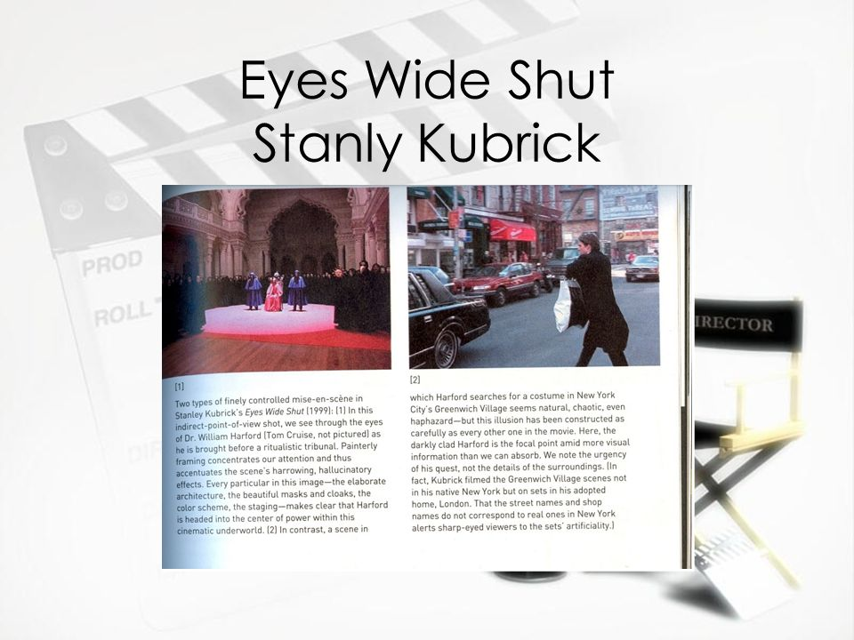 Eyes Wide Shut Stanly Kubrick