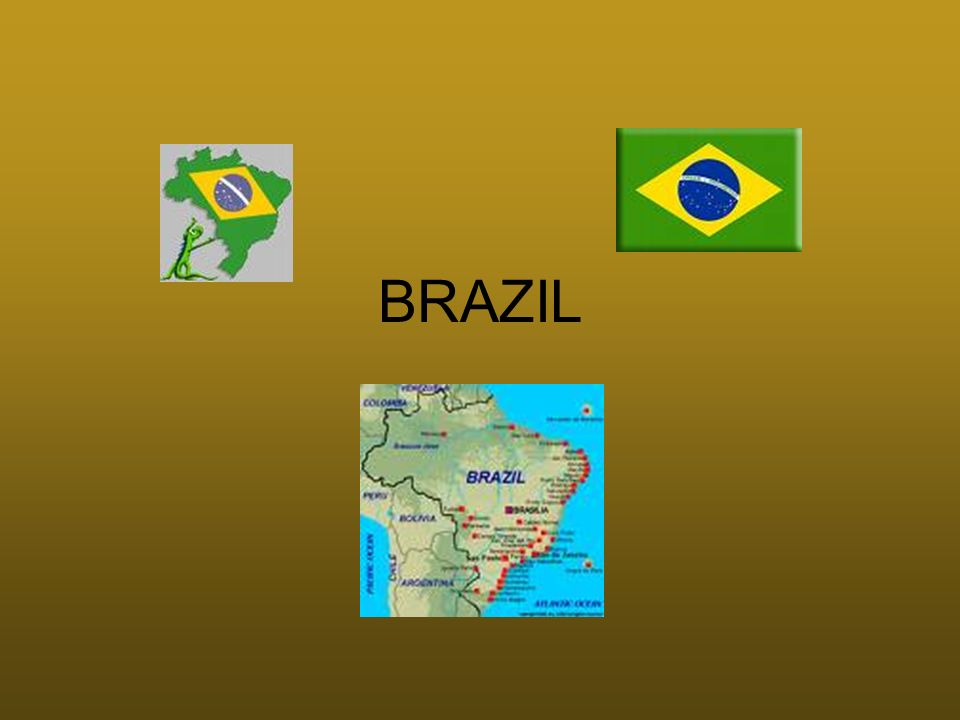 The land and Its Regions Chapter 12 - section 1 Brazil is the largest country in area and population in South America (slightly smaller in area than the U.S.) 2 landforms of Brazil: –1.