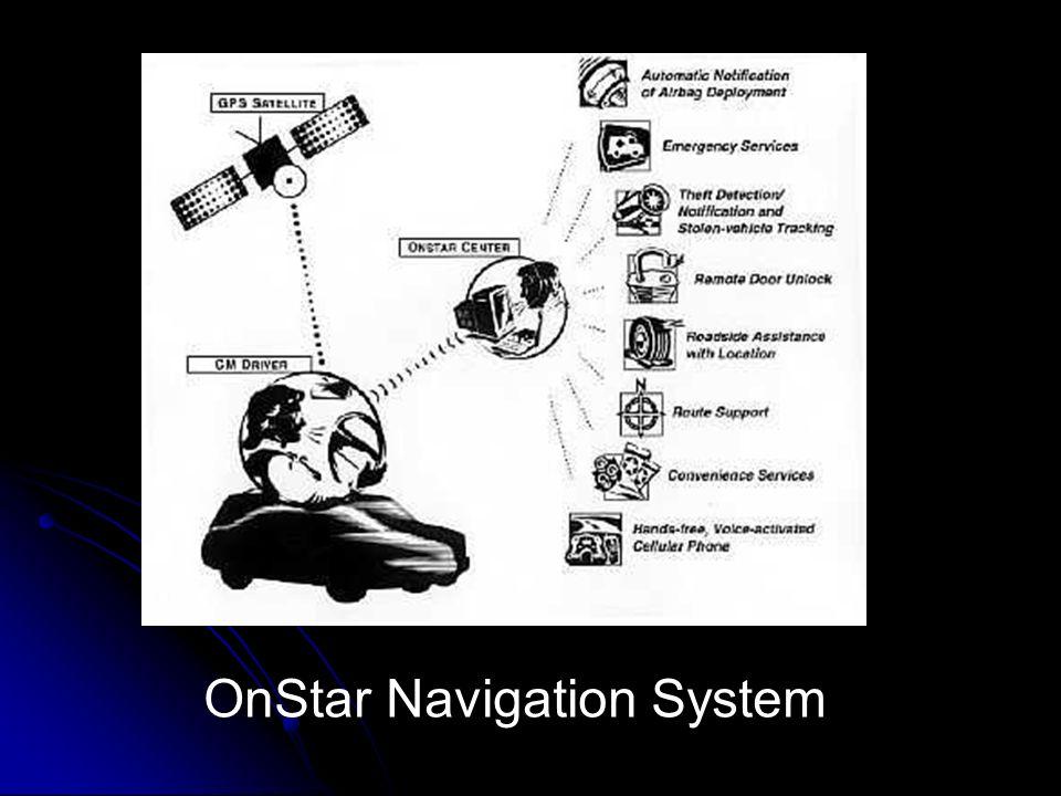 OnStar Navigation System