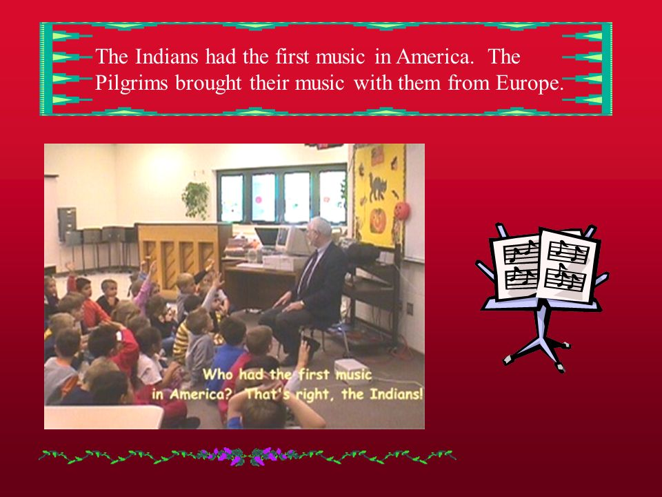 Dr. Binckes is a professor at Rocky Mountain College in Billings, Montana. He came to tell us about American Music