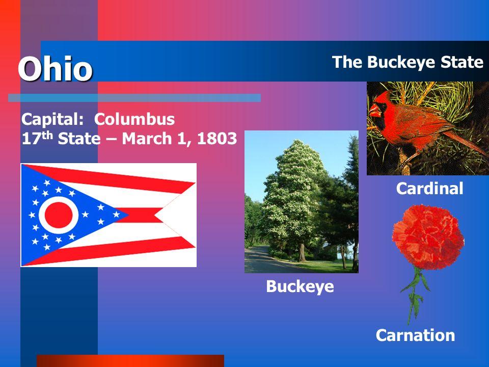 North Dakota Capital: Bismarck 39 th State – November 2, 1889 Wild Prairie Rose American Elm Western Meadowlark The Peace Garden State
