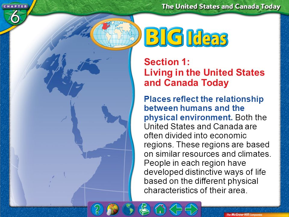 Section 1 Economic Regions (cont.) People can also save their money in a bank.