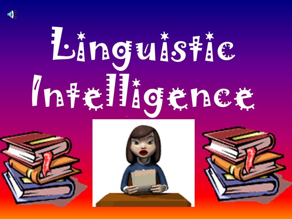 Gardner s Definition: Interpersonal intelligence, (people smart), is understanding other people.