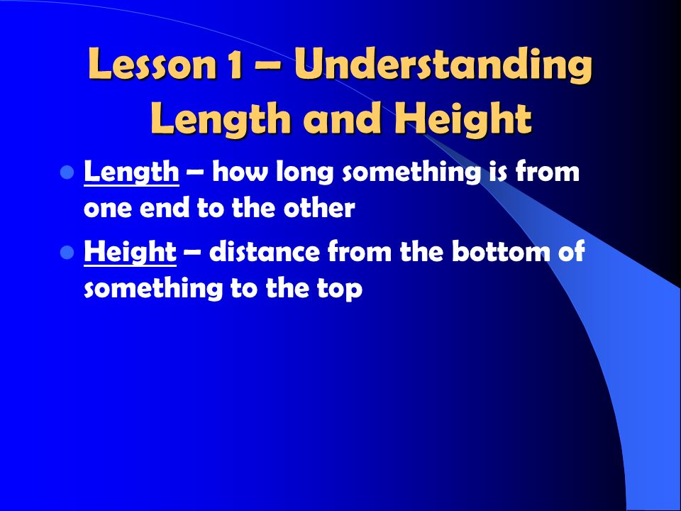 Lesson 11 – Liters Liter (L) – a unit of measure that tells how much something holds.