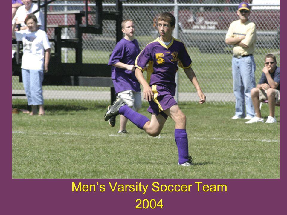 Mens Varsity Soccer Team 2004