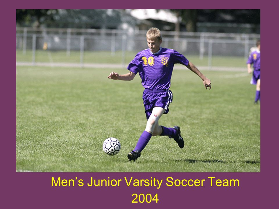 Mens Junior Varsity Soccer Team 2004