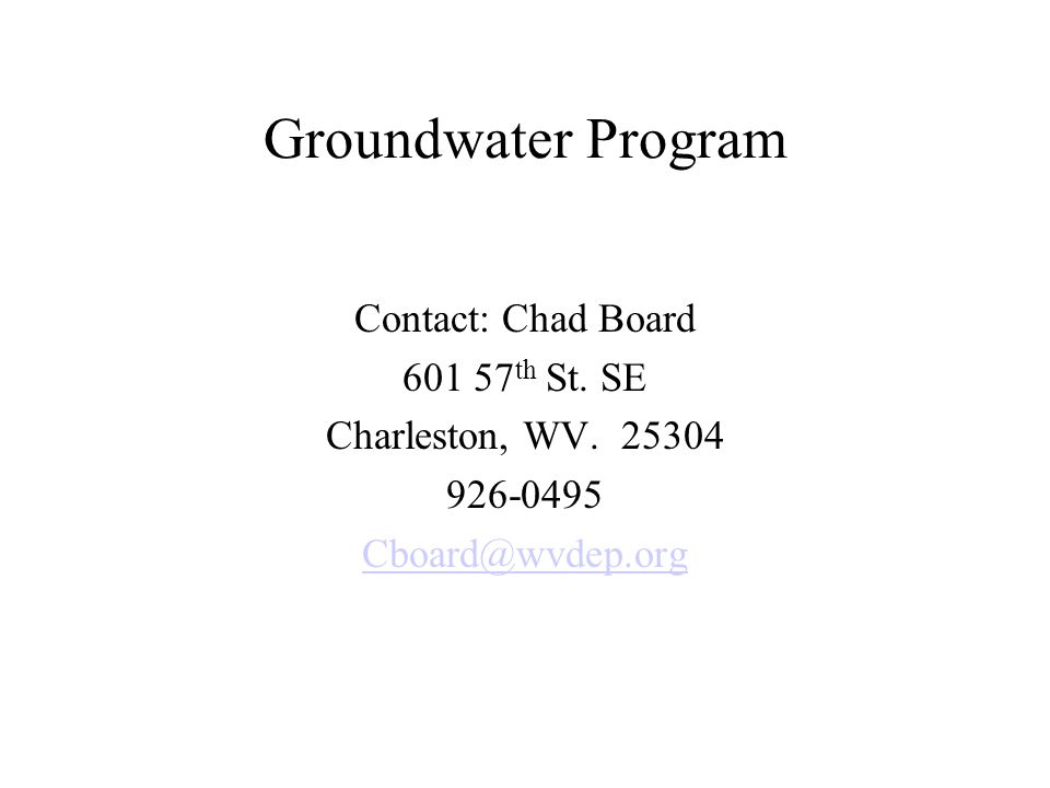Groundwater Discharge Underground Injection Control Permits For systems 3,000 gpd and over Other than single family homes