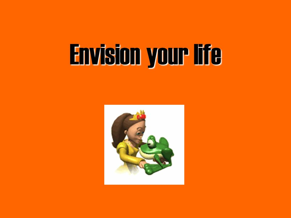 Envision your life