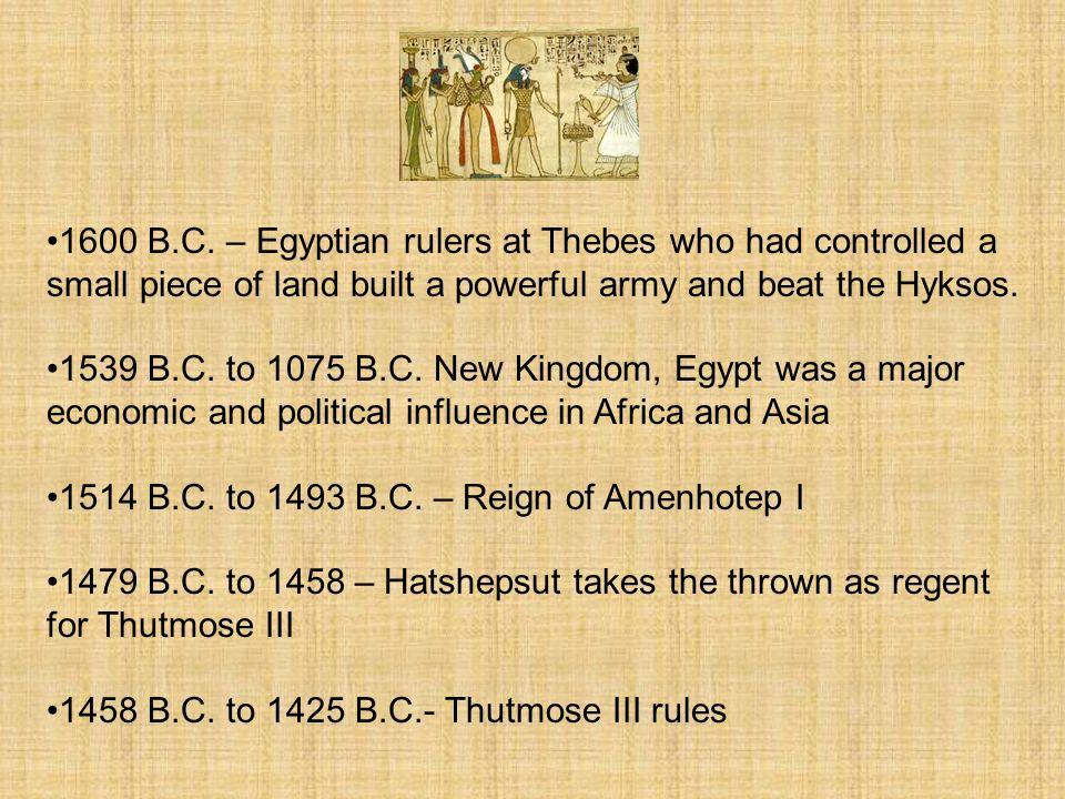 1600 B.C.