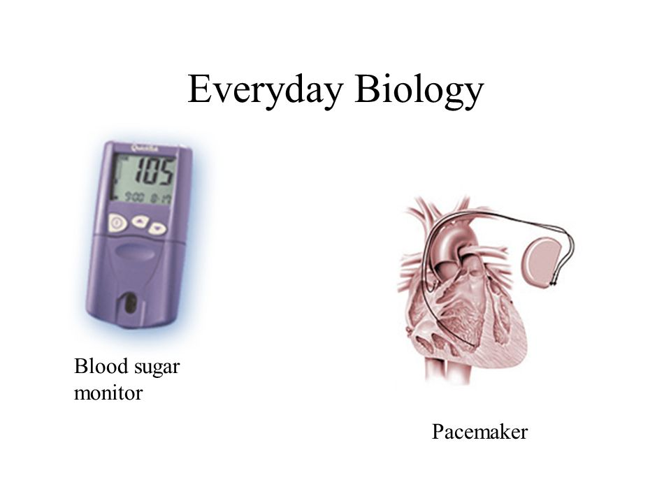 Pacemaker Blood sugar monitor