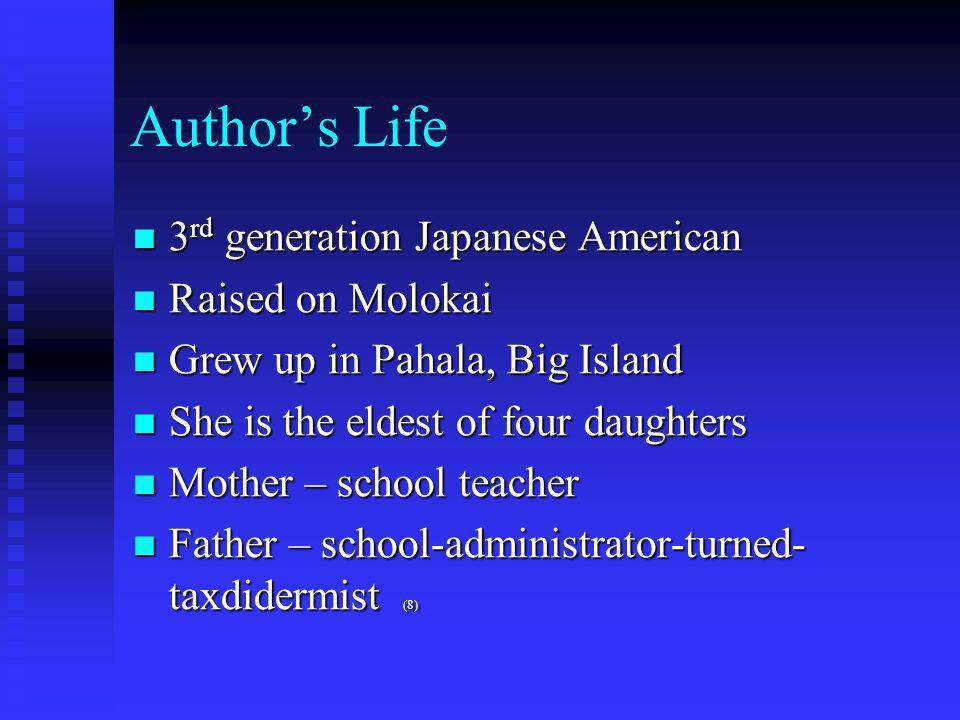 Lois-Ann Yamanaka Bibliographical Presentation 1
