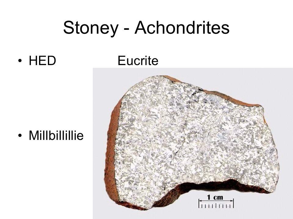 Stoney - Achondrites HED Eucrite Millbillillie