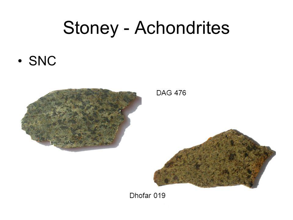 Stoney - Achondrites SNC Dhofar 019 DAG 476