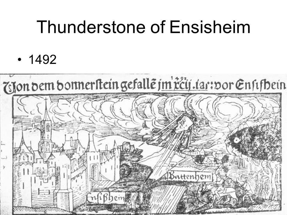 Thunderstone of Ensisheim 1492