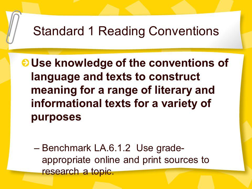 Information Literacy Standard 3 The student who is information literate evaluates information critically and competently.