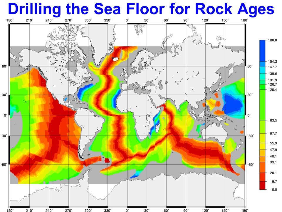 Drilling the Sea Floor for Rock Ages