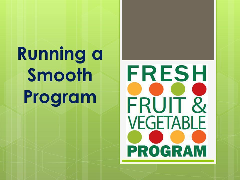 Running a Smooth Program
