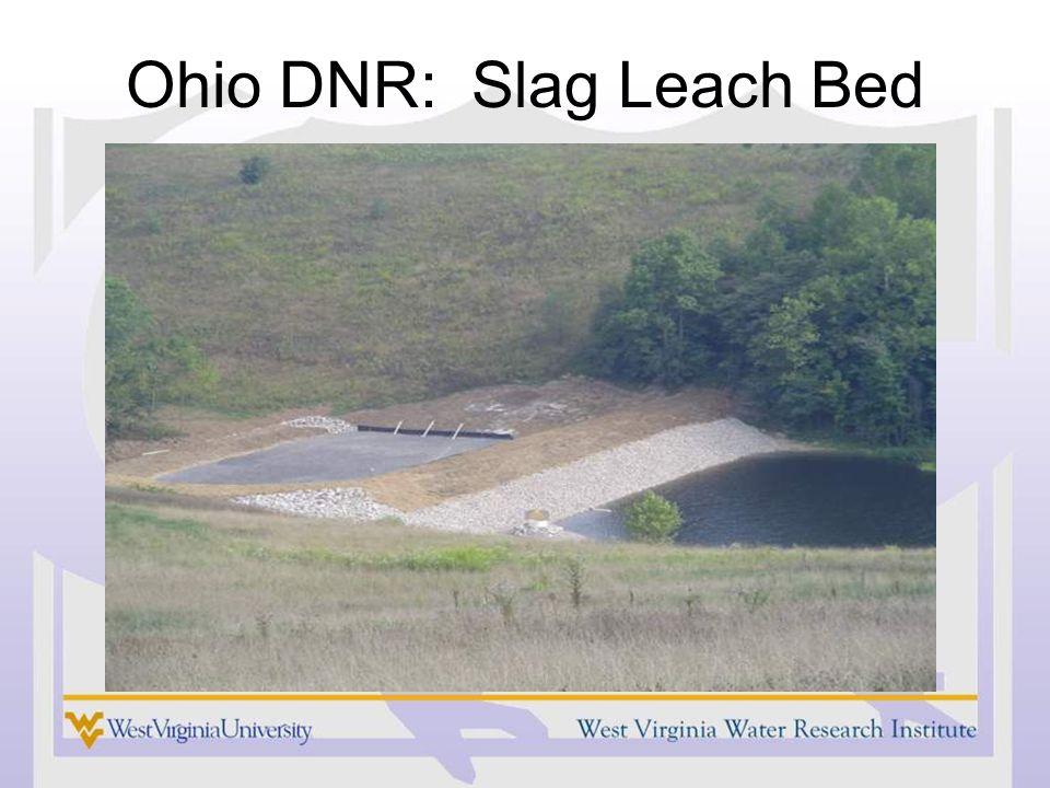 Ohio DNR: Slag Leach Bed