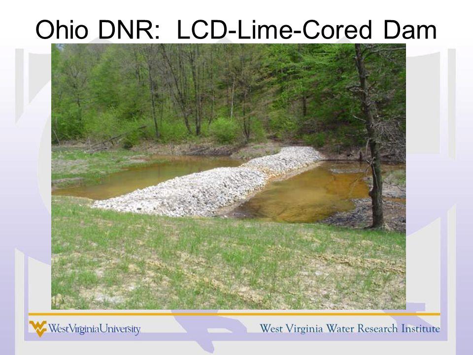 Ohio DNR: LCD-Lime-Cored Dam