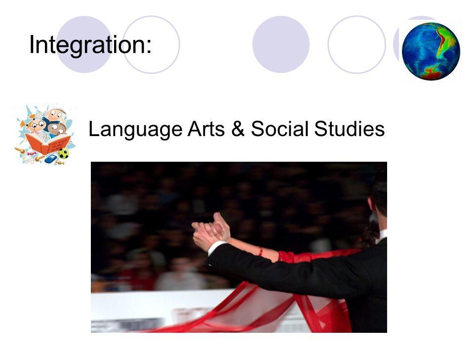 Integration: Language Arts & Social Studies