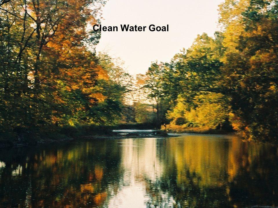 Clean Water Goal Clean Water Goal