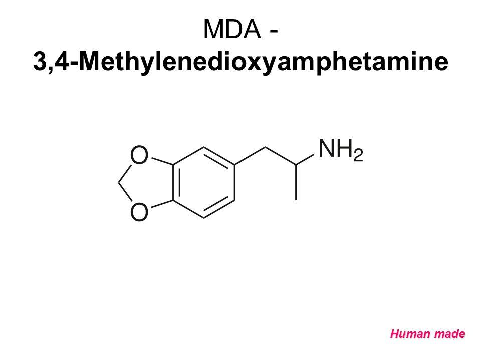 MDA - 3,4-Methylenedioxyamphetamine Human made