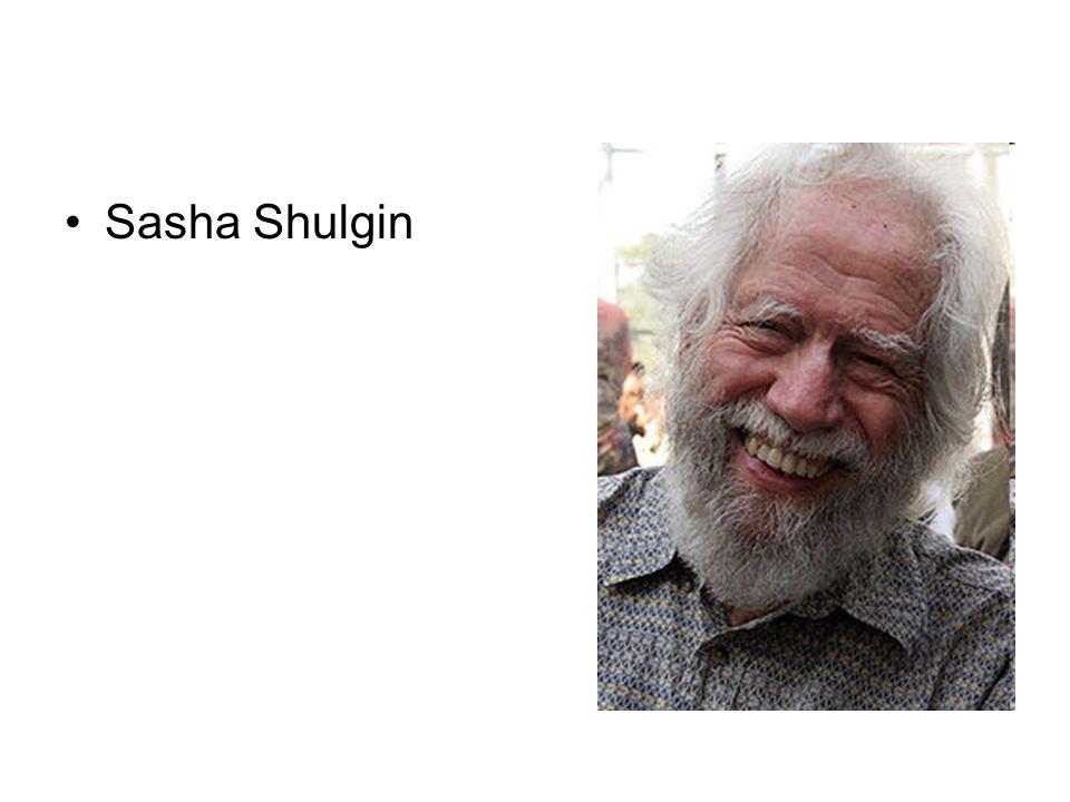 Sasha Shulgin