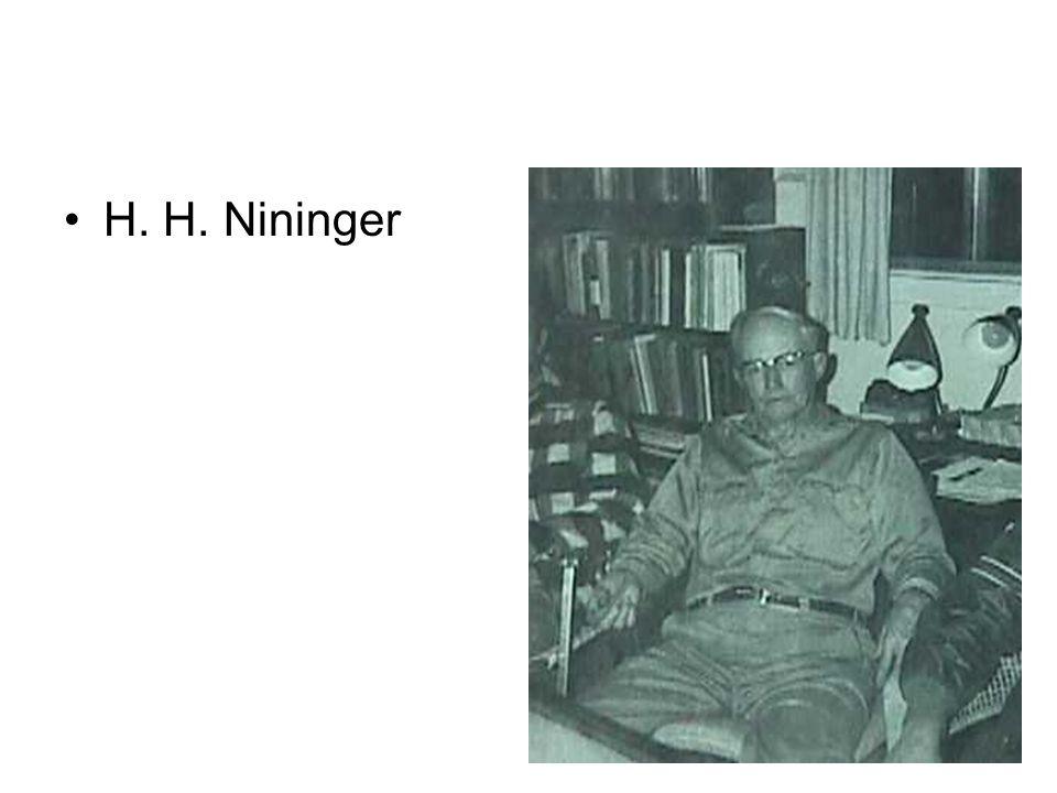 H. H. Nininger