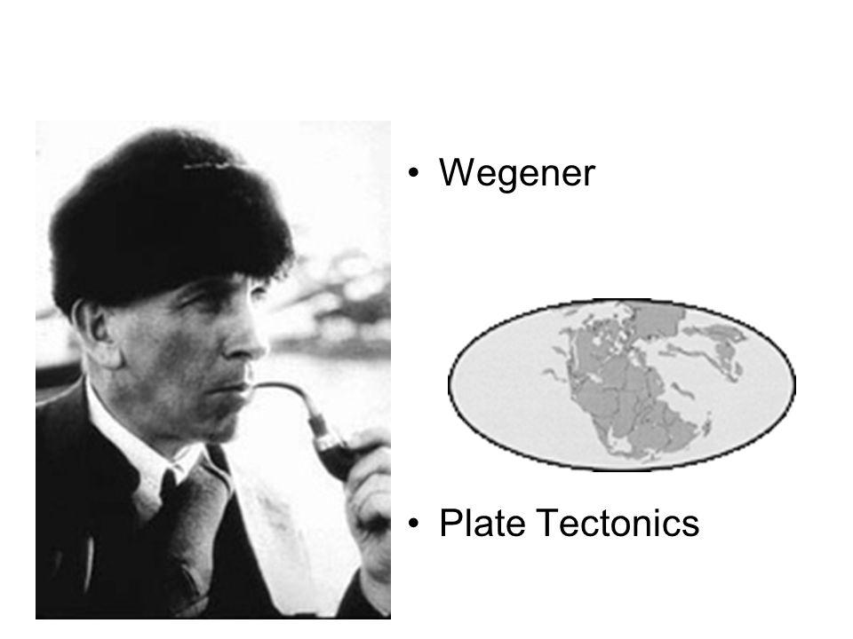 Wegener Plate Tectonics
