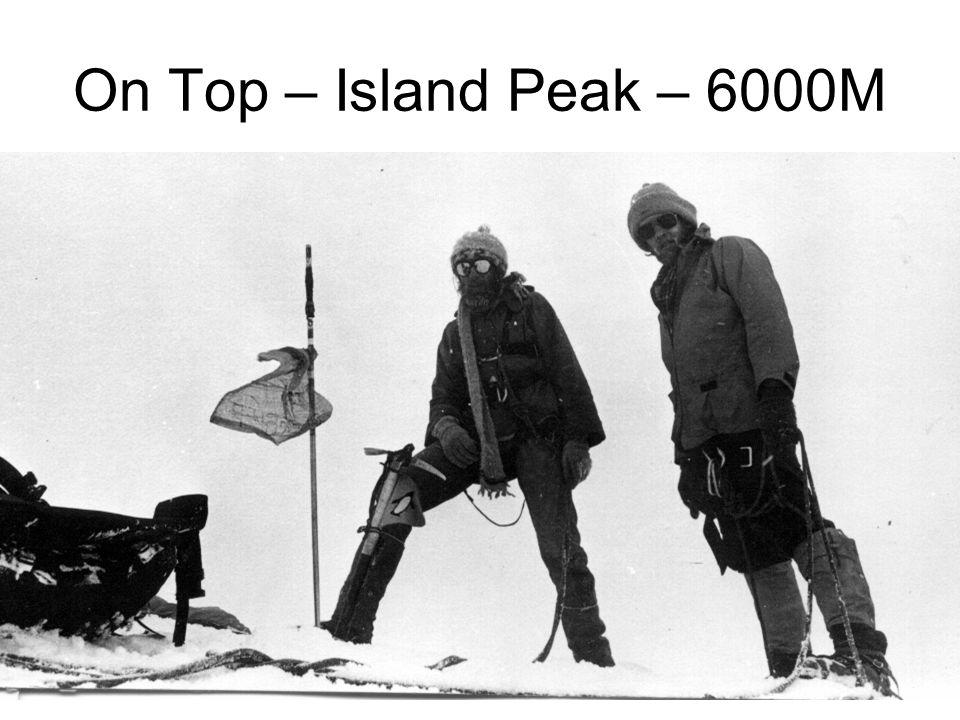 On Top – Island Peak – 6000M
